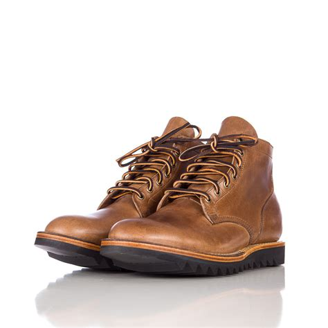ripple sole boots viberg service boot in cxl ripple sole in brown