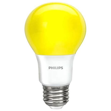 Bug Light Bulbs Led Philips Yellow Bug A19 Led L