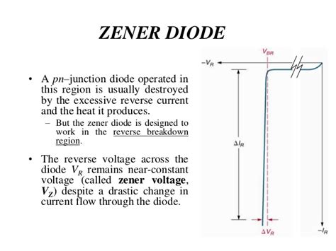 zener breakdown in pn junction diode topic 3 pn junction and diode