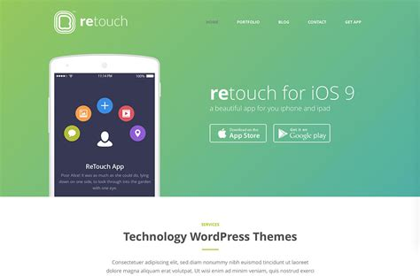 themes download website for mobile 30 best full screen wordpress themes 2018 colorlib