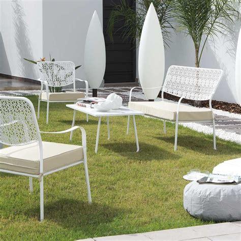 Exceptionnel Castorama Coffre De Jardin #4: salon-jardin-fer-forge-blanc-metal.jpg