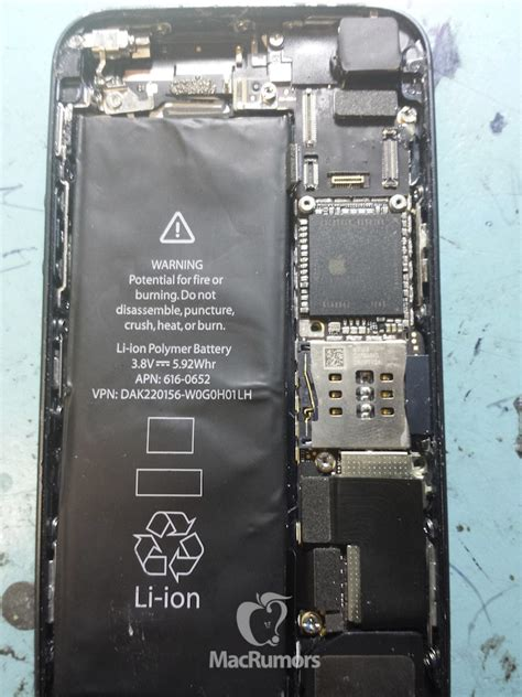 Iphone 5 Interior leaked photos of iphone 5s interior and back panel
