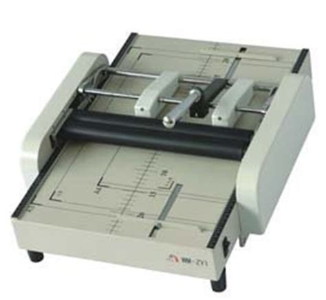 Paper Folding And Stapling Machine - manual bookletmaker staple and folding machine color