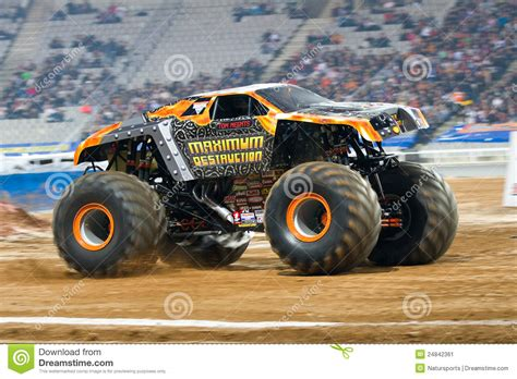 maximum destruction monster truck videos maximum destruction monster truck editorial photo image