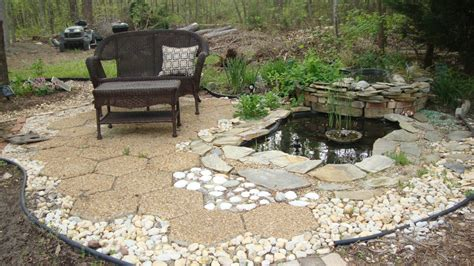 How To Build A Backyard Pond by Backyard Water Feature How To Build A Pond