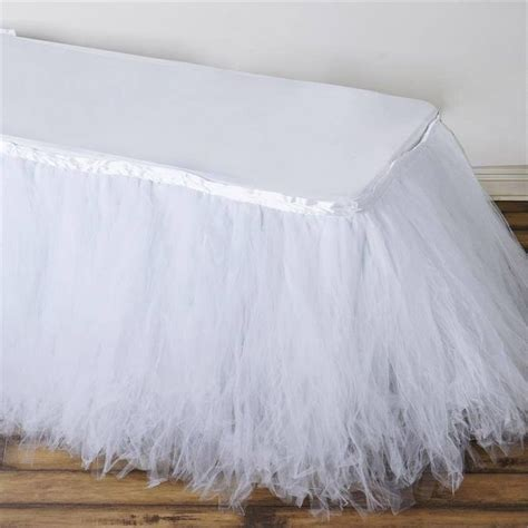 Tulle Table Skirt For Sale by Best 20 Table Skirts Ideas On Tutu Table