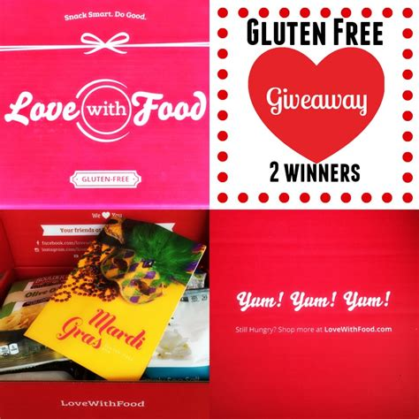 Gluten Free Giveaway - love with food gluten free box review giveaway the fit foodie mama