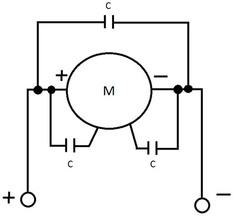 why connect capacitors to motor electrical engineering stack exchange