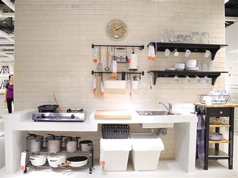 Kitchen Set Ikea Indonesia and jess ikea alam sutera tour