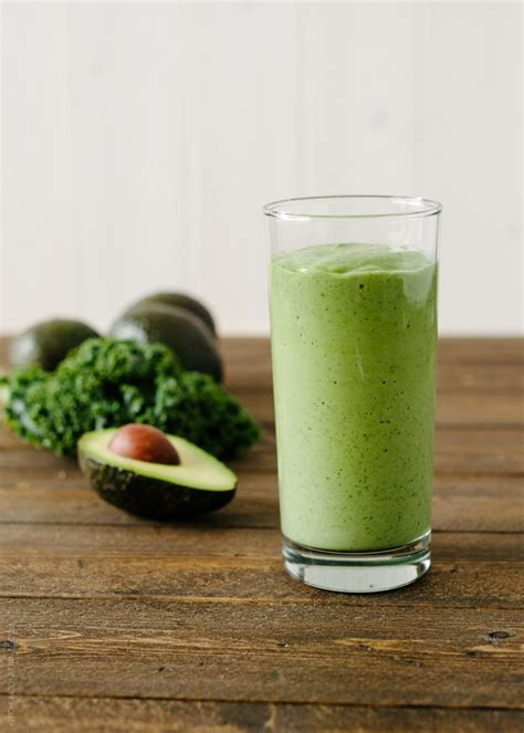 Kale Detox Shakes by Avocado Kale Superfood Smoothie Kale Superfood Kale And