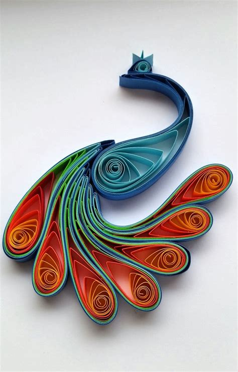 paper quilling peacock tutorial 481 best images about quilling birds on pinterest
