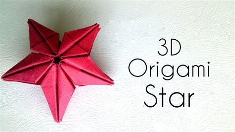 origami  star origami tutorial youtube