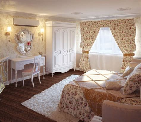 shabby chic bedroom house interior