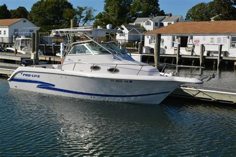 proline boats for sale in ct 2003 proline 26 walk around power boat for sale www