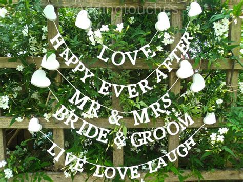 Wedding Reception Banner Sayings by 17 Best Ideas About Wedding Bunting On Vintage