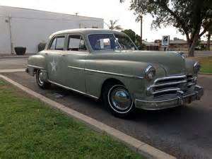 1950 dodge coronet 4 door sedan barrett jackson auction