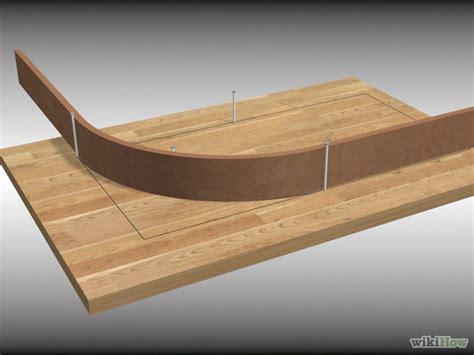 woodworking bending wood 3 ways to bend wood wikihow
