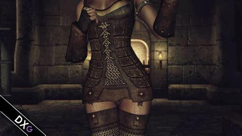 gwelda armor mod skyrim sneak peek at gwelda dawnguard skyrim mod youtube
