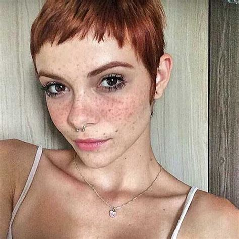 eye catching short red hair ideas   short