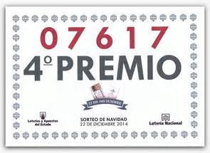 cuarto premio loteria navidad qui 233 nes somos lotoideas queremos ser tu suerte