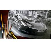 LAMBORGHINI HURACAN REALISTIC DRAWING ISP 2014  YouTube