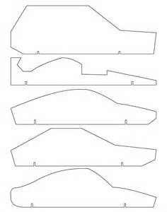 templates for cars 21 cool pinewood derby templates free sle exle