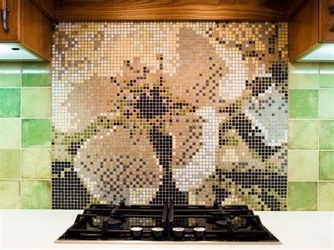 kitchen backsplash mosaic tiles mosaic tile backsplash hgtv