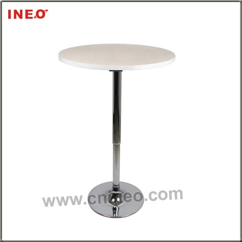 Hi Top Bar Tables by Stainless Steel Adjustable Height High Top Bar Cocktail