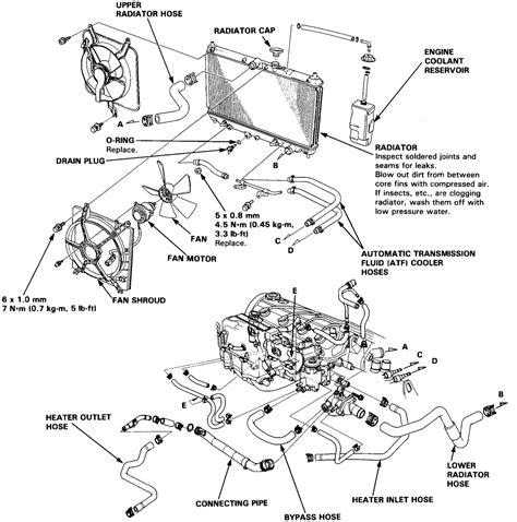 engine diagram 1991 honda accord ex engine get free
