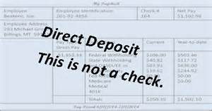 direct deposit check stub template cha ching consumer jungle