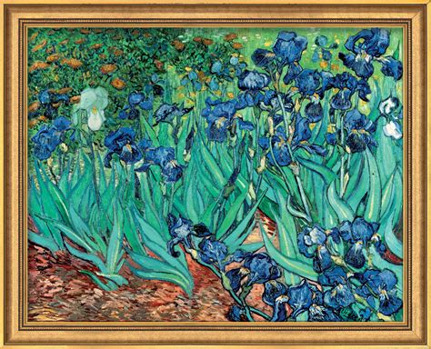 Painting Home Interior Ideas by Famous Irises By Vincent Van Gogh For Sale