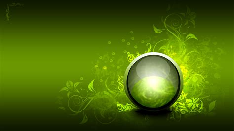 hd themes dwnld 3d green abstract wallpaper best quality wallpaper area