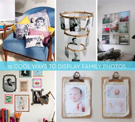 ways to display family photos 15 cool ways to display photography and family photos