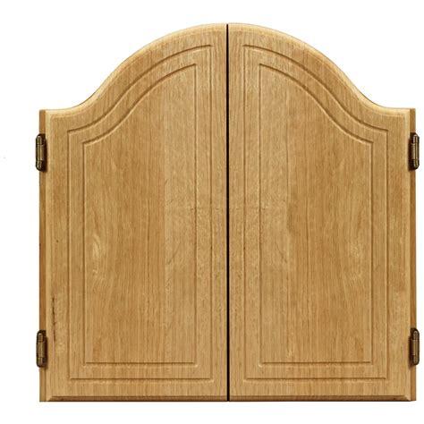Viper Dartboard Cabinet by Viper Arched Dartboard Cabinet Black 135863 At