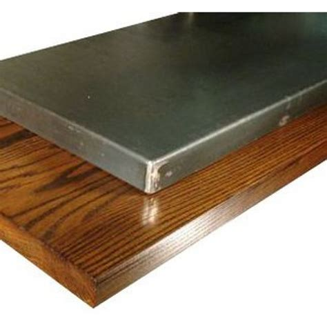 replacement table top wood steel or hardwood tabletops 2 sizes 5 colors