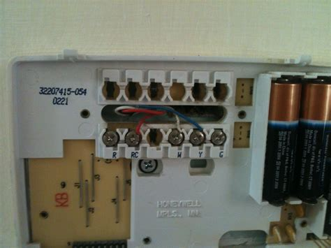 honeywell thermostat chronotherm iii wiring diagram get
