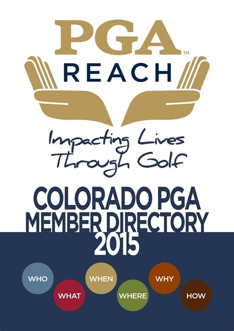 colorado pga section 2015 colorado pga member directory by colorado pga issuu