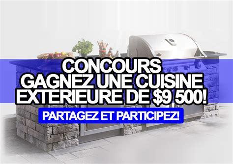 concours gagnez une cuisine ext 233 rieure de 9 500