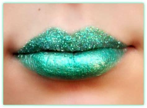 imagenes de labios verdes look de maquillaje de labios fantas 237 a de color verde