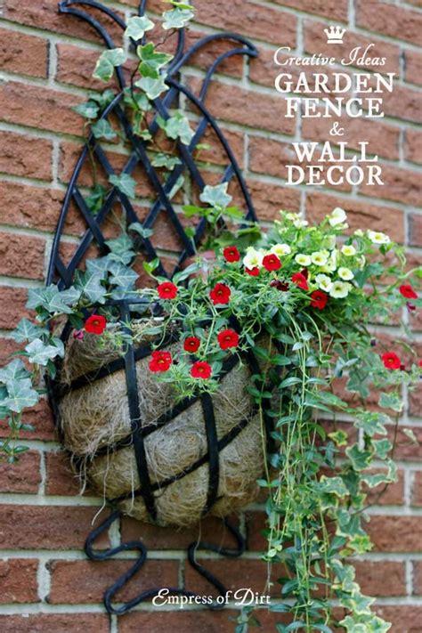 creative ideas  garden fence wall decor empress