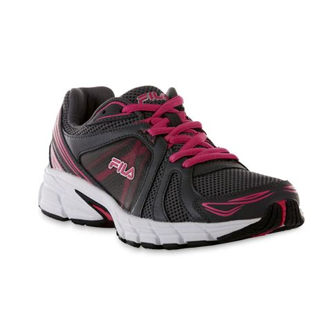 running shoes shopping fila s gravion gray pink running shoe shop your