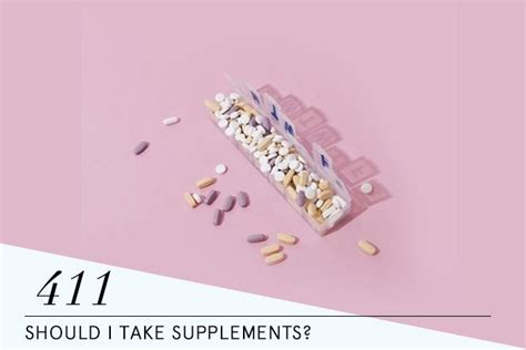 supplements i should take should i take supplements advice from nutrition stripped