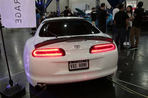 toyota shop ver 1 car shop glow toyota supra jza80 custom led tail