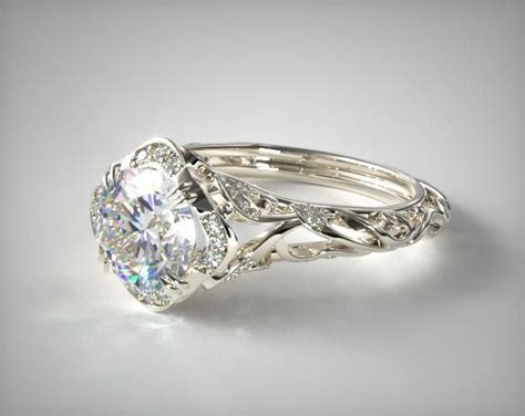 25 best ideas about filigree engagement ring on pinterest
