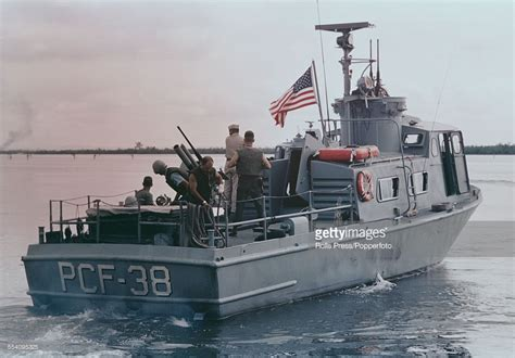 swift craft boat history view of a united states navy swift patrol boat operating