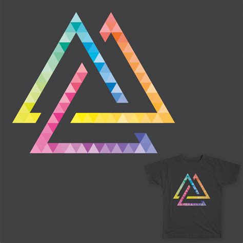 triangle pattern in javascript triangle design tumblr viking valknut pictures