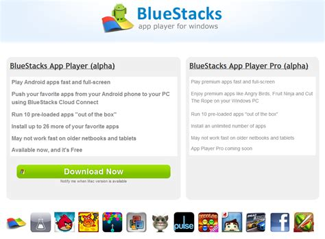 bluestacks update update bluestacks android app player in der alpha version