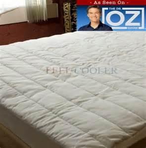 cooling mattress pad feel cooler 174 mattress pad 30 day