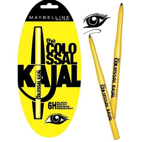 Eyeliner Coloasal Kajal Maybelline maybelline the colossal kajal eyeliner girly essentials