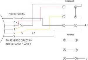 wiring drum switch to single phase motor